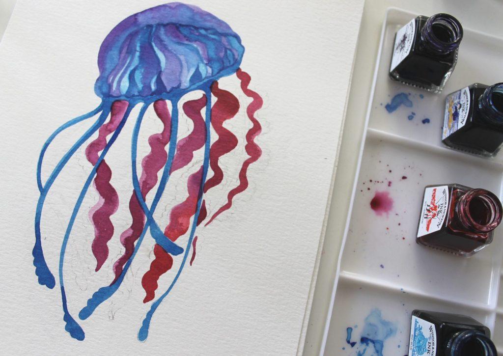 Medusa tentacoli Winsor & Newton