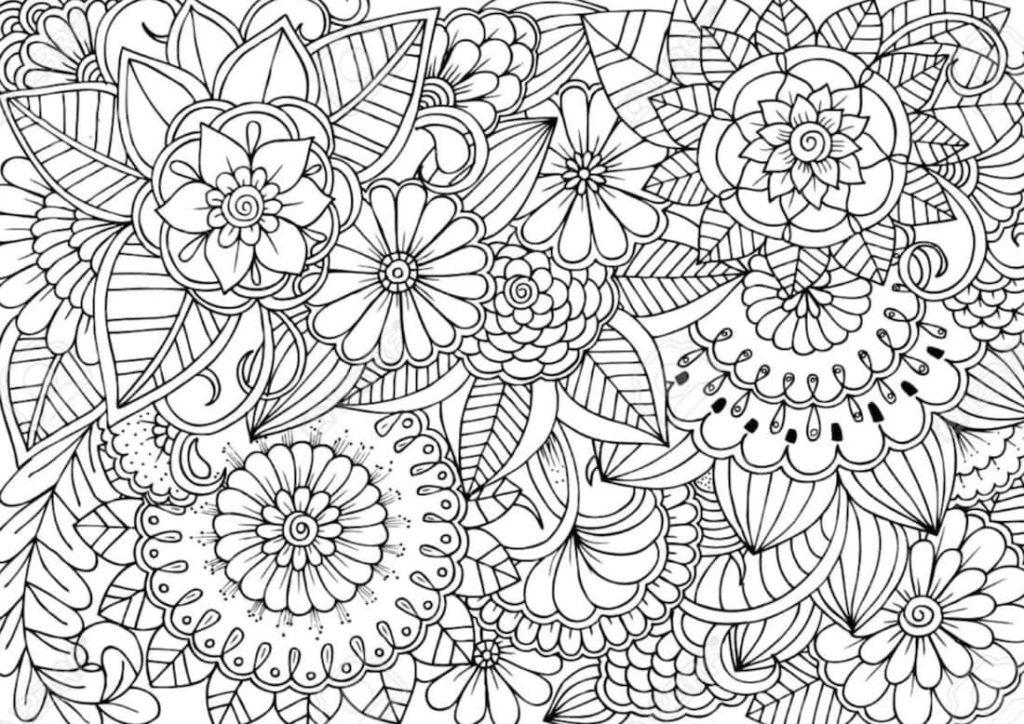 Disegni Da Colorare Art Therapy.Disegni Da Colorare E Arte Terapia Momarte