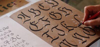 Esercizi di calligrafia