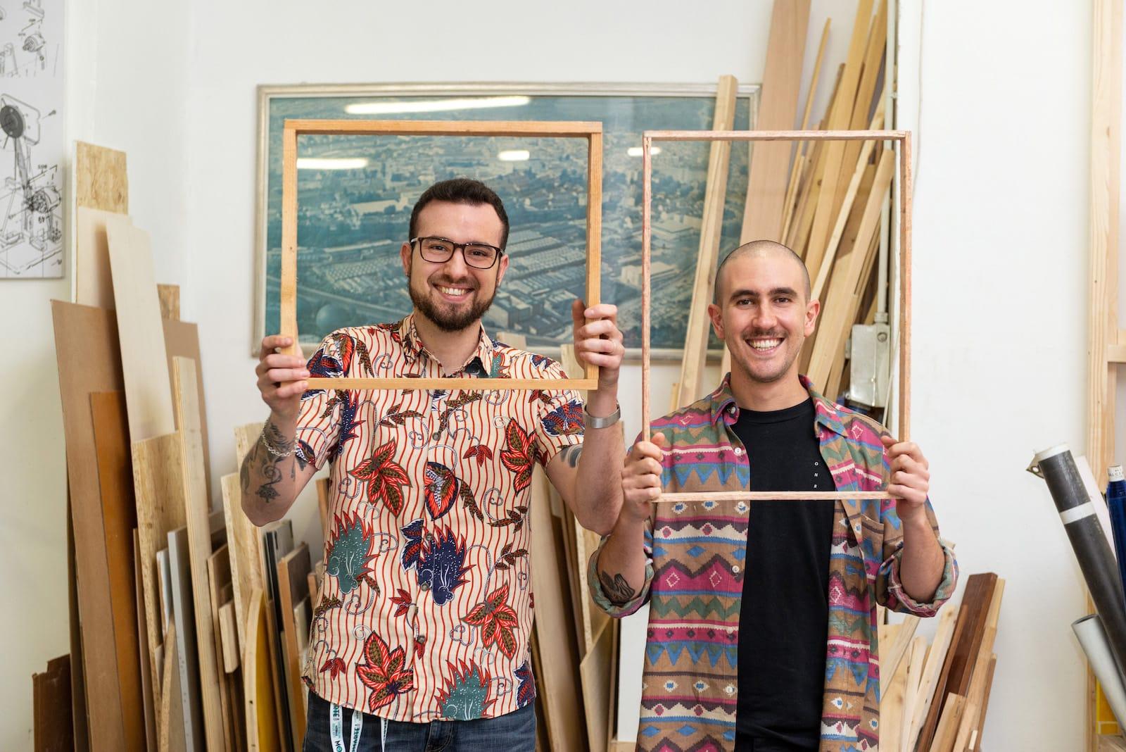 Raffaello e Tiziano, i vostri aiutanti artistici!